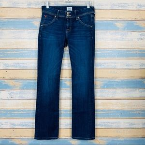 Hudson • Womens Midrise Straight Leg Jeans Size 27